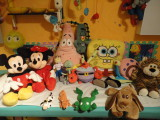 juguetes, muñecos